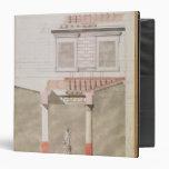 Design for the atrium of the Pompeiian palace Vinyl Binders