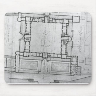 Design for the eastern buildings of the Louvre Mouse Pad