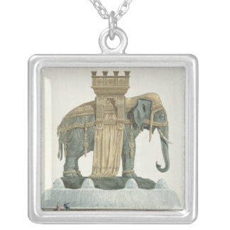 Design for the Elephant Fountain Necklaces