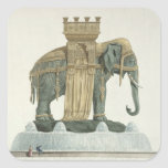 Design for the Elephant Fountain Stickers