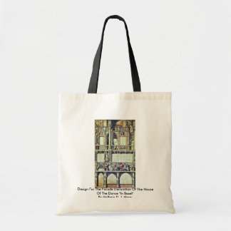 Design For The Facade Decoration Of The House  T Budget Tote Bag