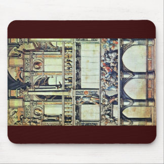 Design For The Facade Decoration Of The House  T Mouse Pad