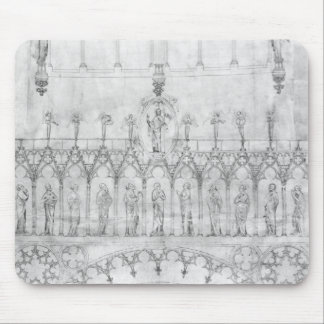 Design for the gallery of kings on the fa�ade mouse pad