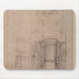 Design for the Medici Chapel Mouse Pad