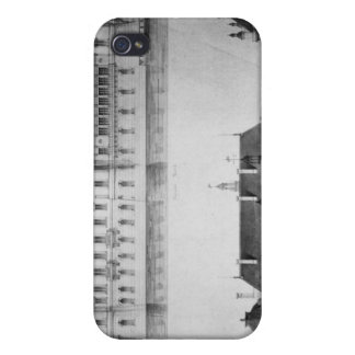 Design for the reconstruction of the north facade cases for iPhone 4