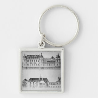 Design for the reconstruction of the north facade keychains