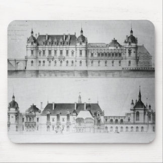 Design for the reconstruction of the north facade mouse pad
