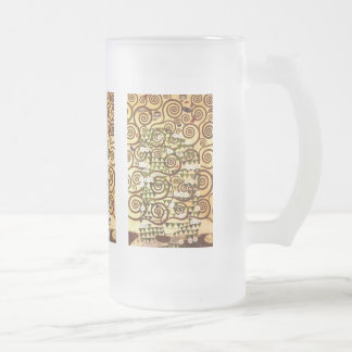 Design for the Stocletfries - Tree of life Frosted Glass Beer Mug