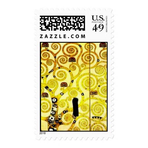 Design for the Stocletfries - Tree of life Stamp