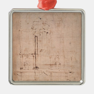 Design for the tomb of Pope Julius II Metal Ornament