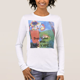 Design for the Unique and Bold Sports Minded Long Sleeve T-Shirt