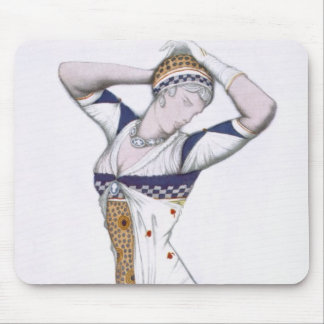 Design from A Fantasy of Modern Costume, 1912 (col Mouse Pad