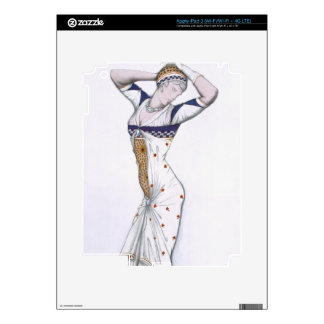 Design from A Fantasy of Modern Costume, 1912 (col iPad 3 Decal