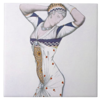 Design from A Fantasy of Modern Costume, 1912 (col Tile
