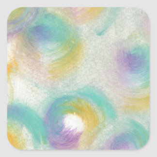 Design from Orginal Painting Square Sticker