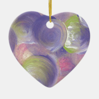 Design from Original Painting Ceramic Ornament