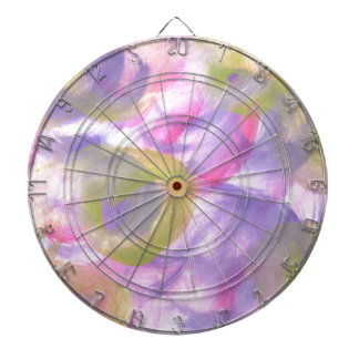 Design from Original Painting Dartboard With Darts