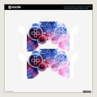 Design from Original Painting Decal For PS3 Controller
