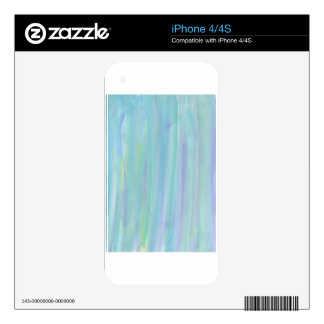 Design from Original Painting Decal For The iPhone 4