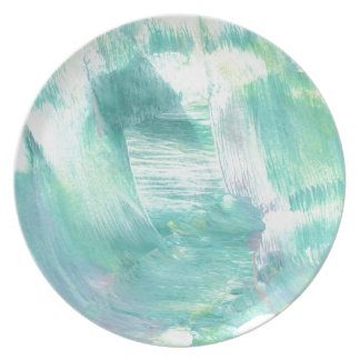 Design from Original Painting Dinner Plate