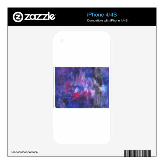 Design from Original Painting iPhone 4 Skins