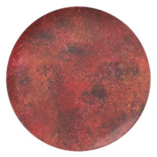 Design from Original Painting Melamine Plate