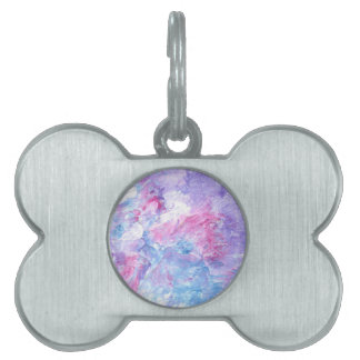 Design from Original Painting Pet ID Tag