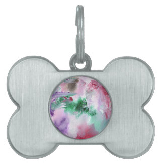 Design from Original Painting Pet Name Tag