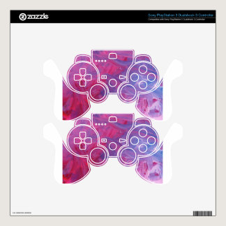 Design from Original Painting PS3 Controller Decal