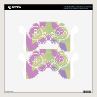 Design from Original Painting PS3 Controller Decals