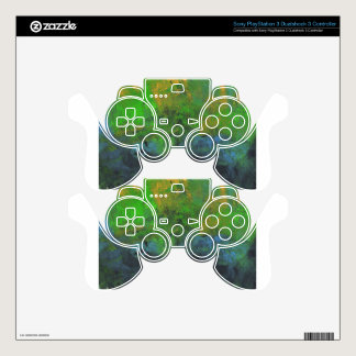 Design from Original Painting PS3 Controller Skin