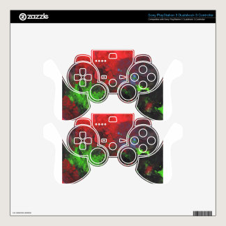 Design from Original Painting PS3 Controller Skins