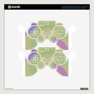 Design from Original Painting Skin For PS3 Controller