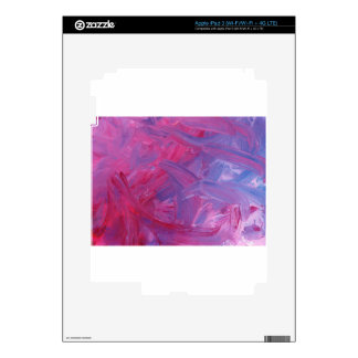 Design from Original Painting Skins For iPad 3