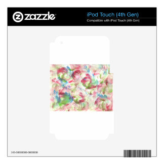 Design from Original Painting Skins For iPod Touch 4G