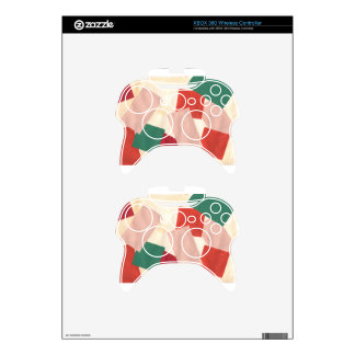 Design from Original Painting Xbox 360 Controller Skin
