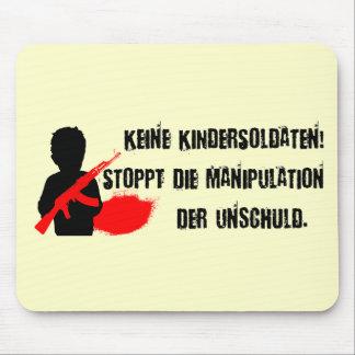 Design für Kinderrechte: Keine Kindersoldaten! Mouse Pad