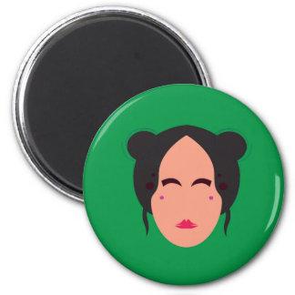Design Geisha eco green Magnet