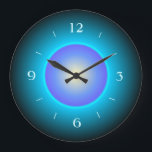 "Design Green/Aqua/Purple&gt;Wall Clock<br><div class=""desc"">A pretty design in green and aqua, which includes a purple centre.Numerals to match .Available in square and round shapes. Note:This is not a led product.It is a printed design.</div>"