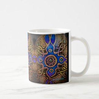 Design in Solid form by Julie Ann Stricklin Coffee Mug