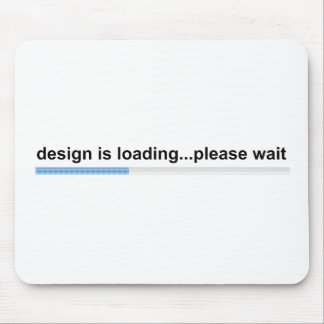 design is loading mouse pad
