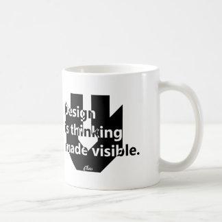 Design Is Thinking Made Visible - Mug