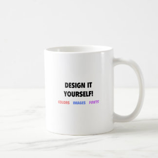 Design It Yourself On Coffee Mug