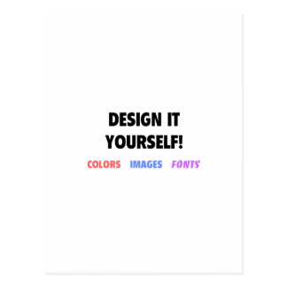 Design It Yourself On Postcard