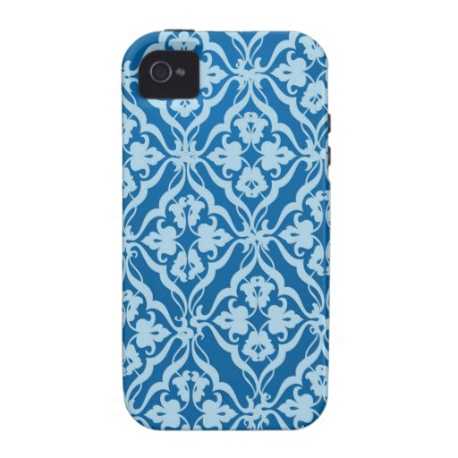 design.jpg azul iPhone 4 carcasas