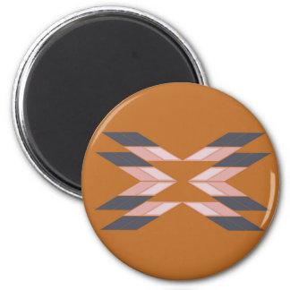 Design mandala ECO BROWN Magnet