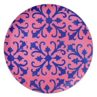 Design/Motif Melamine Plate