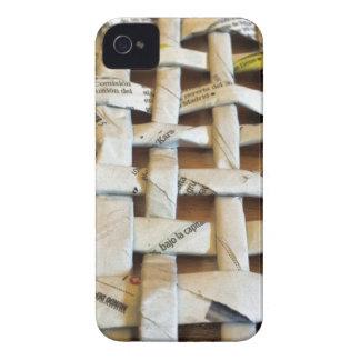 Design Newspaper Basket Case-Mate iPhone 4 Cases