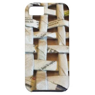 Design Newspaper Basket iPhone SE/5/5s Case
