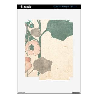 Design of Flowers - Japan Skins For iPad 3